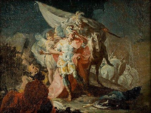 Berkin Arts Francisco de Goya Giclée Leinwand Prints Gemälde Poster Reproduktion (Hannibal die Alpen)