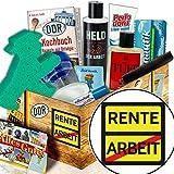 Rente / Pflege Set DDR für Männer / Geschenk für werdende Rentner
