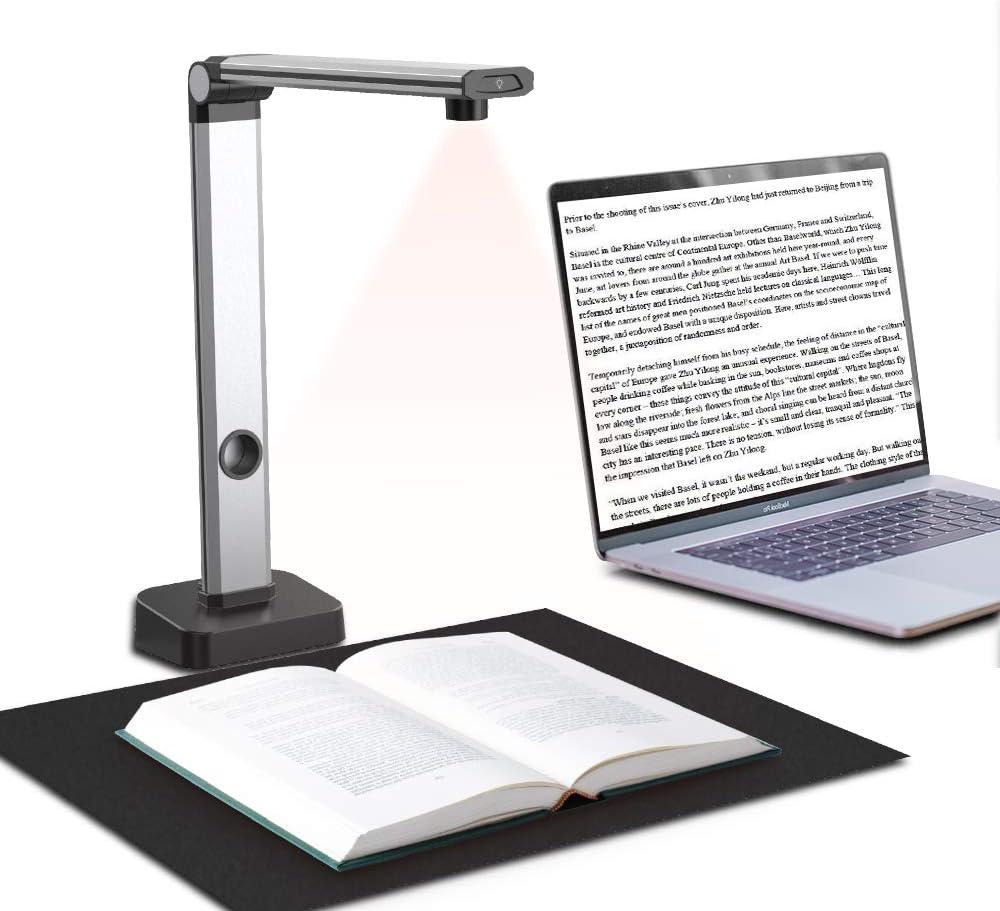 JOYUSING 14MP HD Book  Document Scanner, Auto-Flatten  Capture