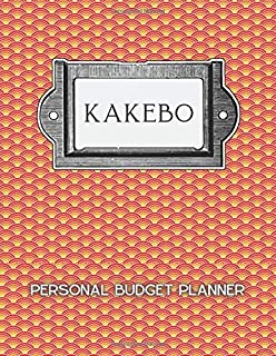 KAKEBO Personal Budget Planner: Japanese Art of Saving Budget Planner | Take control of your money like millionaires do. M...