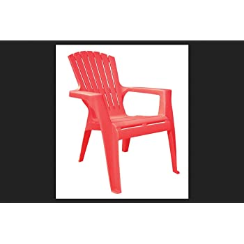 Adams Patio Furniture 8460-26-3731 Cherry Red Kids Chair (Pack of 1)