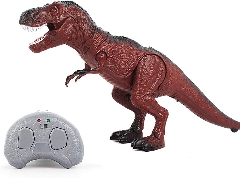 SQRTOY Elektrische Fernbedienung Walking Dinosaurier Spielzeug LightUp Sound Action Figure Kinder Geschenke