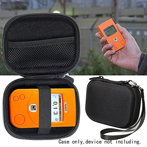 Radiation Detector Case for RADEX RD1212 Advanced, RD1212-BT Advanced Radiation Detector, RD1503+with, w/o Dosimeter, RD1706 Geiger Counter, Dosimeter w/ Bluetooth, mesh Accessories Pocket
