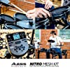 Alesis Drums Nitro Mesh Kit - Eight Piece All Mesh Electronic Drum Kit With Super Solid Aluminum Rack, 385 Sounds, 60 Play Along Tracks, Connection Cables, Drum Sticks & Drum Key Included #5