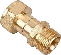 Sooprinse Pressure Washer Swivel Joint, Kink Free Gun to Hose Fitting, Anti Twist Metric M22 14mm Connection, 3000 PSI