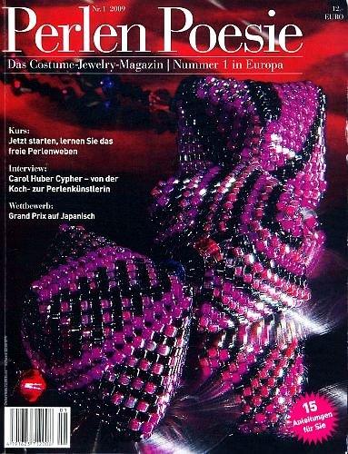 Perlen Poesie 2009 Nr. 1 - Das Magazin für Perlenkunst [Broschiert / Journal] (Perlenkunst)