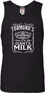 Adult Tormund's Giant's Milk Sleeveless Tank Top Cotton T-Shirt