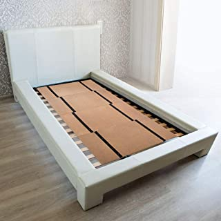 DMI Folding Bunkie Bed Board for-Mattress Support, Can be Used Instead of a Box Spring to Streamline and Minimize the Bed ...