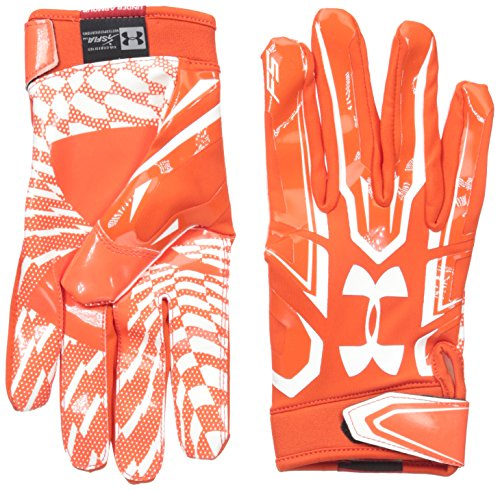 Under Armour American Football Receiver Handschuh F5, orange m