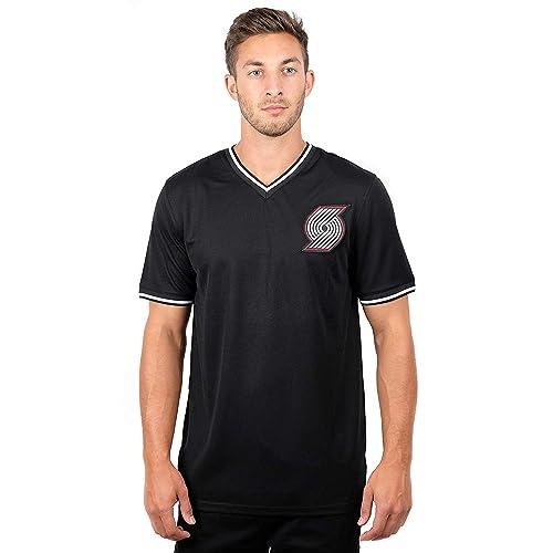 5baf4a0df UNK NBA Men s Jersey T-Shirt V-Neck Mesh Short Sleeve Tee Shirt