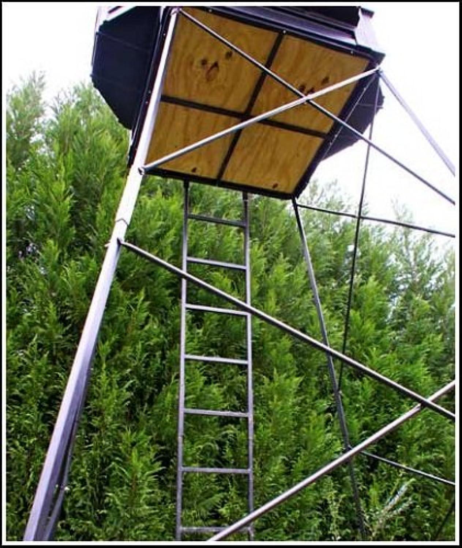 Hughes Company HP67055 Adjustable 510' Hunting Tower 4x4 Floor Box Blind