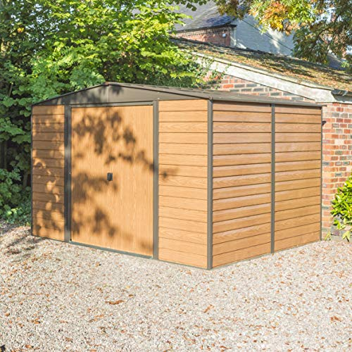 Rowlinson 10 x 8ft Woodvale Metal Shed