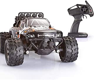 ZHANGL Rc Car Remote Control Car Kids Toy Off-road Four-wheel Drive Car Electric Car Racing Car Charging Boy High-speed Cl...