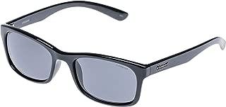 Polaroid Rectangle Black Unisex Sunglasses - P8333 KIH BLACK - 54-19-143 mm