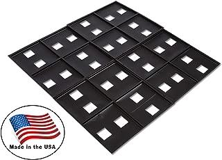 Argee RG191/25 Brick Guides, Black