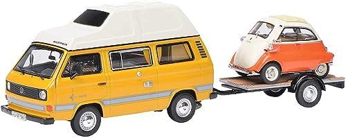 Schuco 450330300 VW T3 Joker Campingbus 1 43 450330300-VW, Orange