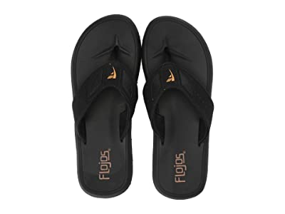 Flojos San Juan (Black/Brown) Men