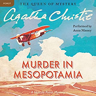 Murder in Mesopotamia audiobook cover art