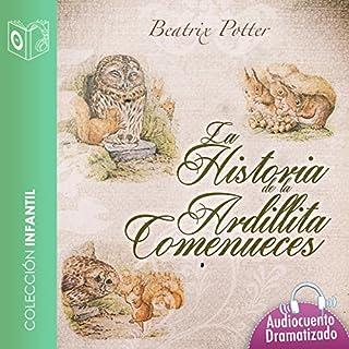Historia de la ardillita come nueces [The Tale of Squirrel Nutkin] audiobook cover art