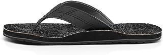 Sanuk - صنادل Vaquero Deuce للرجال، المقاس: 9 D(M) US للرجال، اللون: أسود