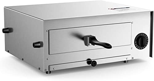 popular Giantex Pizza Bake Oven Kitchen Pizza Toaster Home Commercial Countertop Pizza discount Maker Stainless Steel Bake Pan with Handle and Removable wholesale Pizza Tray online sale
