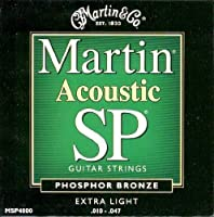 MARTIN MSP4000×3SET アコースティックギター弦