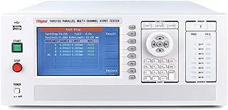 TH9010A Parallel 4-Channel Hipot Tester, AC 0-5000V, DC 0-6000V; AC 0-10 mA, DC 0-5 mA; IR: 0.1Mohm-10Gohm