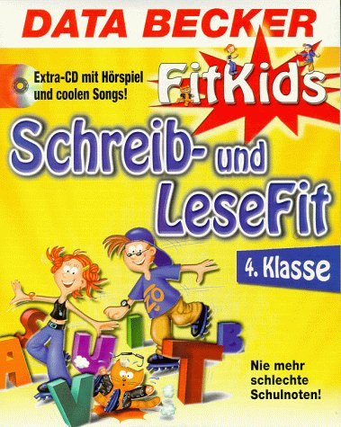 Data Becker FitKids, CD-ROMs, Schreib- und LeseFit 4. Klasse, 2 CD-ROMs