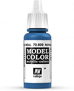 Vallejo Royal Blue Paint, 17ml