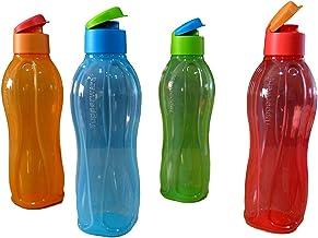 طقم زجاجة فليب توب 1 لتر لكل قطعة من تابروير – 4 قطع، متعدد الألوان