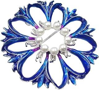 Csheng Pins Epingles A Nourrice Mode Broche Diamant Broche Dames Broches Grandes /Épingles De S/ûret/é Diamante Broche Broches pour Femmes Vintage Blue/&Pink