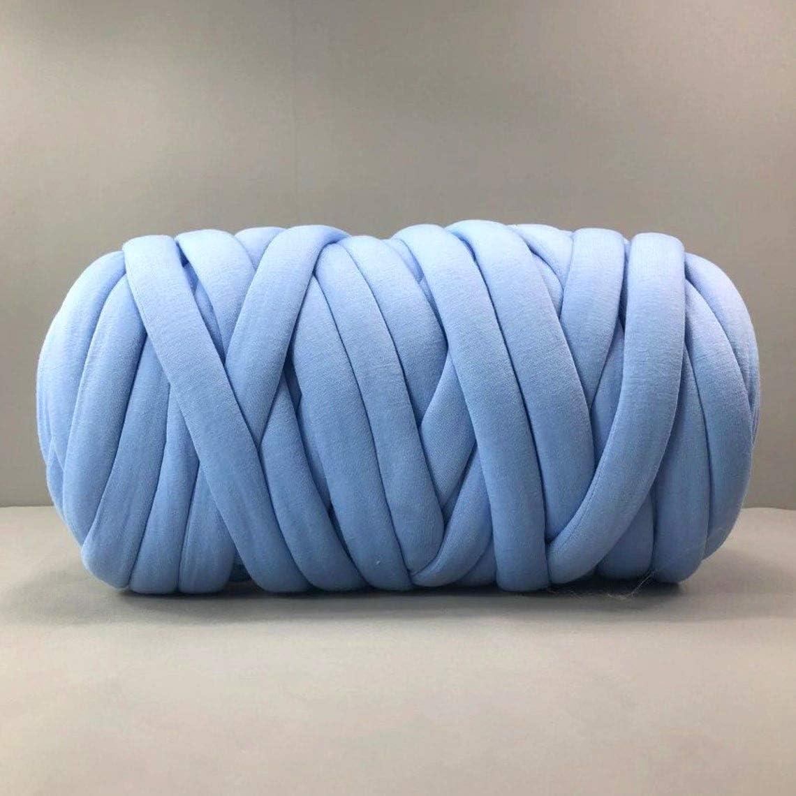clootess Arm Knitting Yarn Chunky Handmade Cotton Braid depot for Popular standard