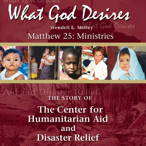 What God Desires audiobook cover art