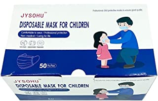 FBA: Jiayue KIDS Daily Mask Use Face Mask (Dinosaur Mask Print with Girl Box Design) 99% Filtration Efficiency rate (Non-M...
