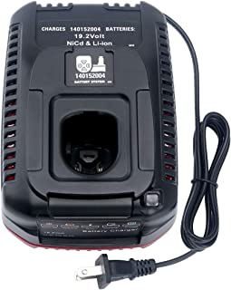 Lithium-Ion & Ni-cad Battery Charger for Craftsman C3 9.6Volt and 19.2 Volt XCP 140152004 Battery