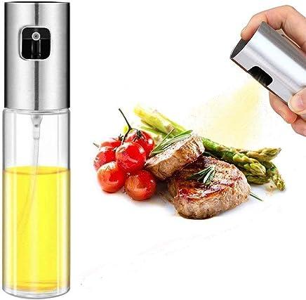 Oil Sprayer for Cooking, Olive Oil Sprayer Oil Dispenser Vinegar Bottle for BBQ, Making Salad, Kitchen Baking, Grilling, Frying (100 ml) (100ml)