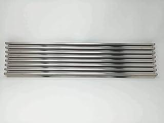 Filinox 82181603 Rejilla Ventilación Mueble Inox 60 cm, Acero inoxidable