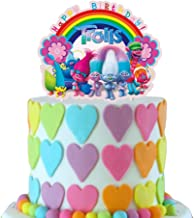 4 Pc Trolls Set Of Cake Toppers For Cake Decorating
