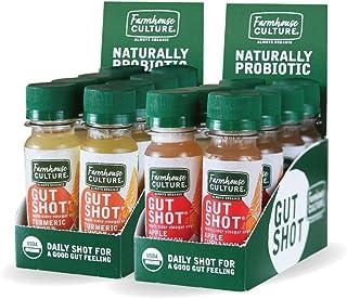 Live Probiotic Apple Cider Vinegar Shots, Immunity Boost & Gut Health, Organic & Fermented Variety 16-Pack Apple Cinnamon ...