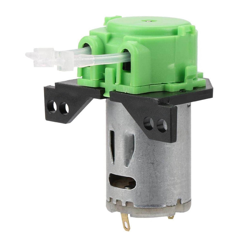 DC12V / 24V, bomba peristáltica de fácil mantenimiento Práctico soporte de bomba dosificadora peristáltica CW y CCW Autocebante para análisis de laboratorio de acuarios(green, 24V 1 * 3)