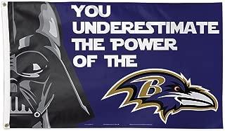 Wincraft Baltimore Ravens Star Wars 3x5 Flag