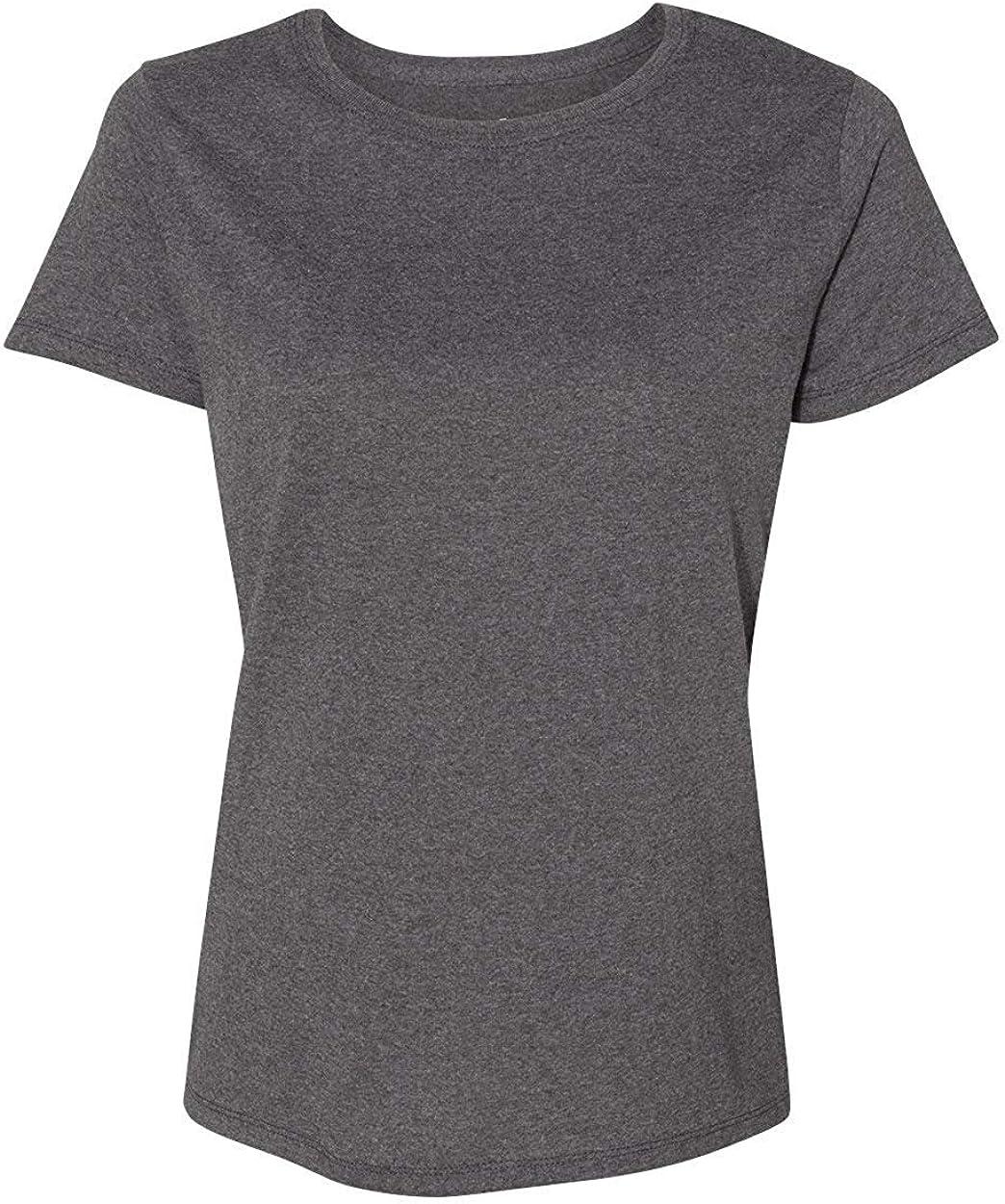 Hanes Women's Relaxed Fit Jersey ComfortSof Crewneck T-Shirt