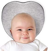 heart shaped pillow for flat head