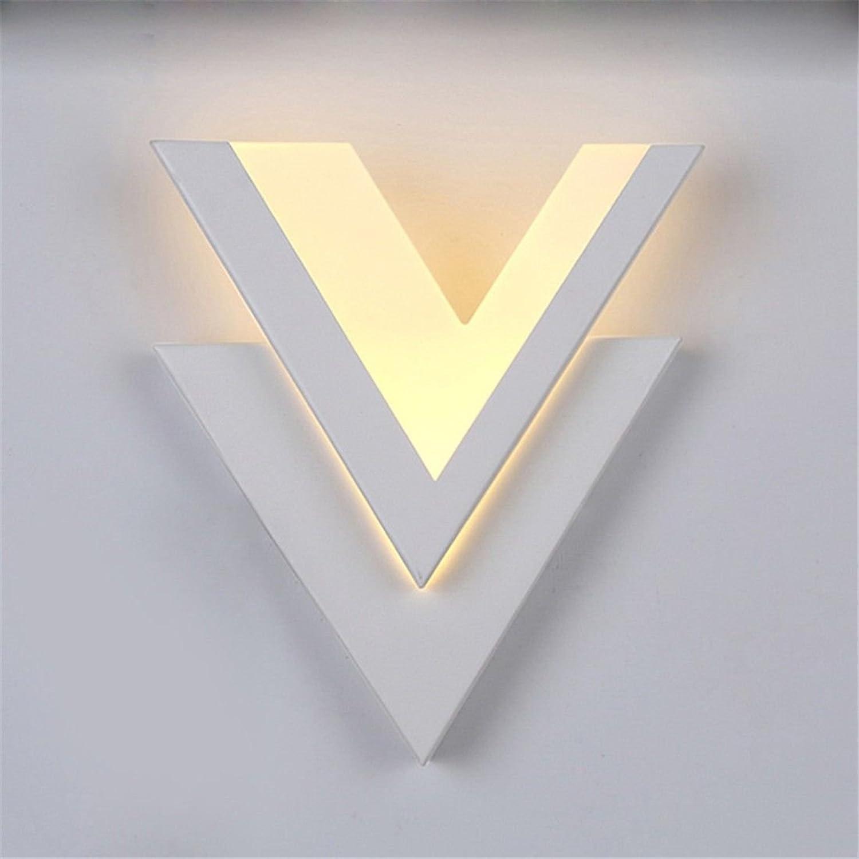Modern LED Wandleuchte LED Acryl Wandleuchte Korridor Gang Wandleuchte Nachttischlampe Raumdekoration Licht Vintage Retro Café Loft Bar Flurlampe, Wandlampe Upaus Aluminium für Flur Korridor.