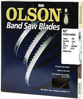 Olson Saw WB57262DB 62-Inch by 3/8 wide by 4 Teeth Per Inch Band Saw Blade