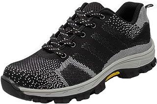 da58c1c5 Zapatillas de Seguridad para Hombre Antideslizante Calzado de Trabajo para  Ligeras Comodas 35-46