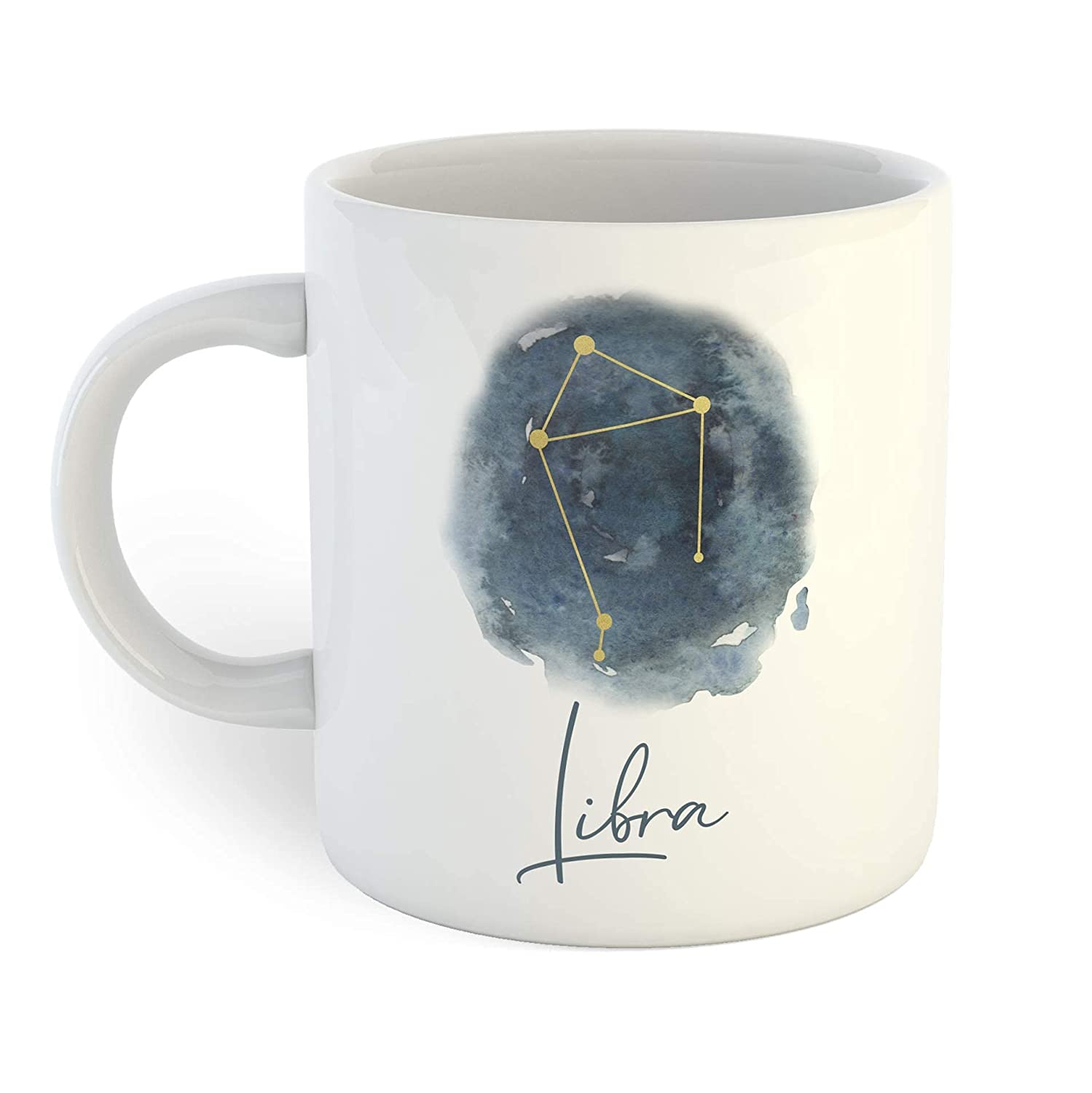 Watercolor Star Super sale Sign Coffee Libra Mug sold out