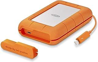 LaCie 萊斯 4?TB 堅固迷你 USB 便攜式外置硬盤適用于 PC 和 MAC