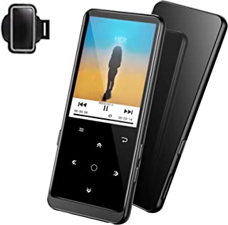 "32GB MP3 Player, Supereye MP3 Player with Bluetooth 4.2, Music Player with FM Radio and Recording, 2.4"" Screen, HiFi Lossl..."
