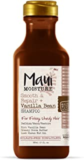Maui Moisture Smooth & Repair + Anti-Frizz Curl Shampoo to Deeply Hydrate & Moisturize Thick, Coarse, Curly & Natural Hair...